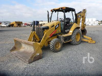 2014 CATERPILLAR 416F Loader Backhoe