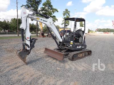 2018 BOBCAT E35 Mini Excavator (1 - 4.9 Tons)