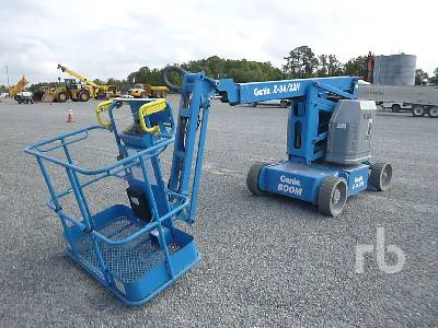 2018 GENIE Z34/22N Electric Boom Lift