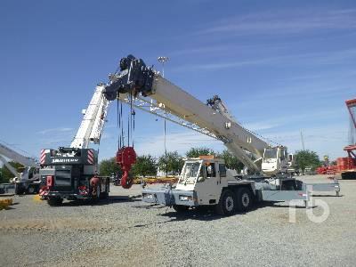 2001 TEREX T750 75 ton 8x4x4 Hydraulic Truck Crane