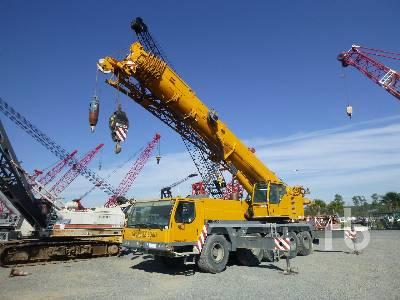 2005 LIEBHERR LTM1100-5.1 120 Ton 10x6x10 All Terrain Crane