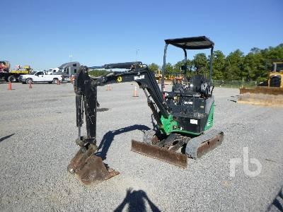 2014 JOHN DEERE 17D Mini Excavator (1 - 4.9 Tons)