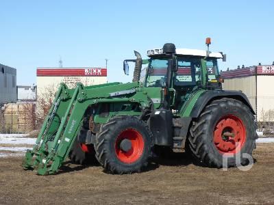 2011 FENDT 716 Vario MFWD Tractor