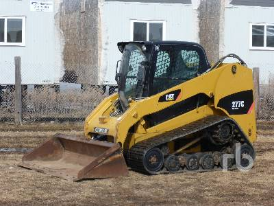 2009 CATERPILLAR 277C 2 Spd Compact Track Loader
