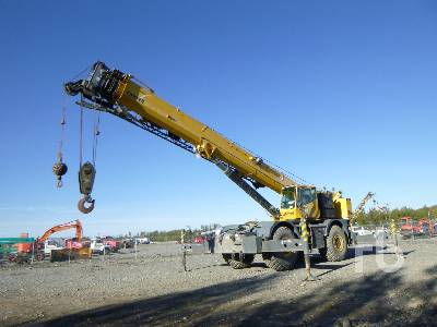 2007 GROVE RT875E 75 Ton 4x4 w/rear steer Rough Terrain Crane