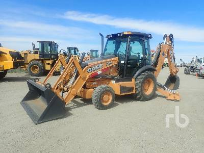 2014 CASE 580SN 4x4 Loader Backhoe
