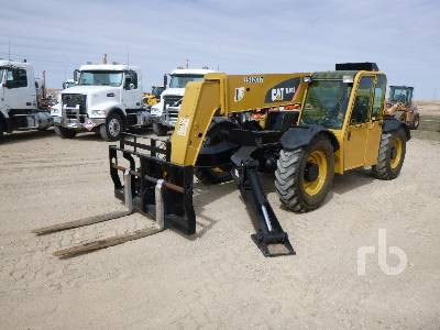 2007 CATERPILLAR TL943 9000 Lb Telescopic Forklift