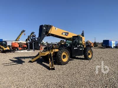 2014 CATERPILLAR TL1055 Telescopic Forklift