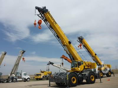 2003 GROVE RT700E 60 Ton 4x4 Rough Terrain Crane