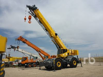 2008 GROVE RT700E 60 Ton 4x4 Rough Terrain Crane
