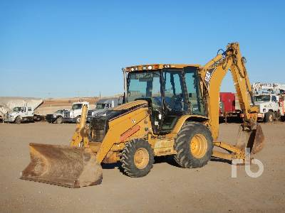 2004 CAT 430D Loader Backhoe
