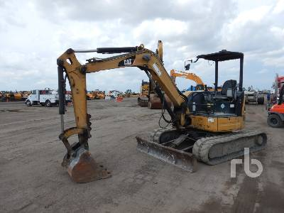 2007 CATERPILLAR 304C CR Mini Excavator (1 - 4.9 Tons)