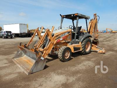 2011 CASE 580N 4x4 Loader Backhoe