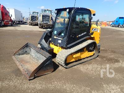 2017 JCB 3TS-8T Compact Track Loader