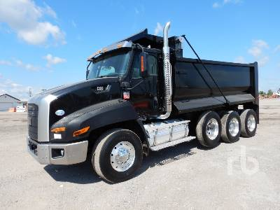 2012 CATERPILLAR CT660S Dump Truck (Tri/A)