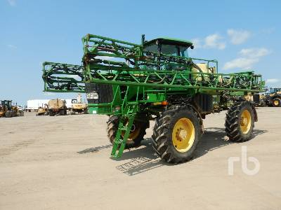 2015 JOHN DEERE 4630 80 Ft 4x4 High Clearance Sprayer