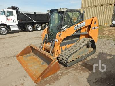 2014 CASE TR320 High Flow Compact Track Loader