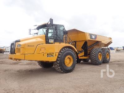 2017 CATERPILLAR 745 6x6 Articulated Dump Truck
