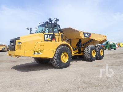 2017 CATERPILLAR 745C 6x6 Articulated Dump Truck