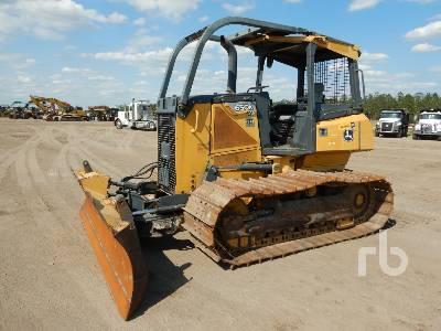 2012 JOHN DEERE 650J LGP Crawler Tractor