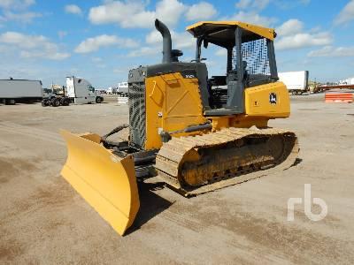 2018 JOHN DEERE 450K LGP Crawler Tractor