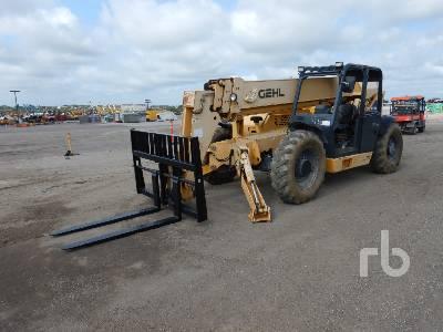2011 GEHL DL11H55 11000 Lb 4x4x4 Telescopic Forklift