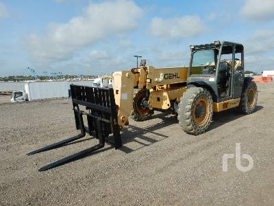 2011 GEHL DL944 9000 Lb 4x4x4 Telescopic Forklift