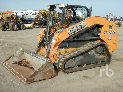 2014 CASE TV380 Compact Track Loader
