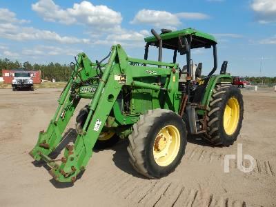 JOHN DEERE 6100 MFWD Tractor