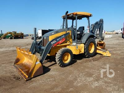 2018 JOHN DEERE 310L 4x4 Loader Backhoe