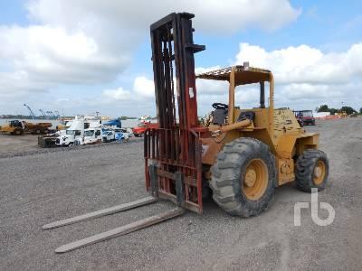 2012 MASTERCRAFT C0810116 8000 Lb 4x4 Rough Terrain Forklift
