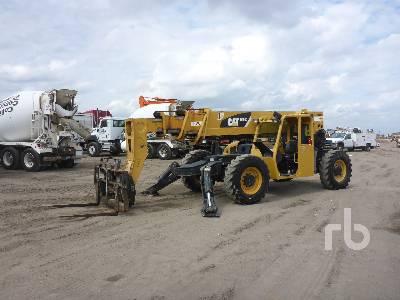 2007 CATERPILLAR TL1055 10000 Lb 4x4x4 Telescopic Forklift