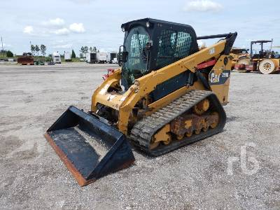 2014 CATERPILLAR 289D 2 Spd Multi Terrain Loader
