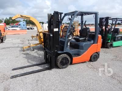 2012 TOYOTA 8FGCU25 4700 Lb Forklift