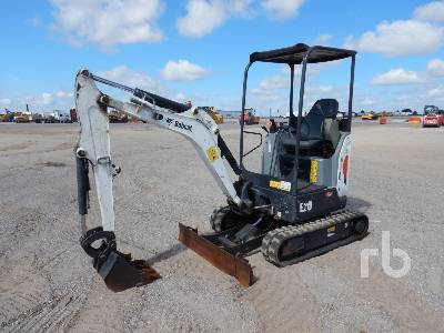 2016 BOBCAT E20 Mini Excavator (1 - 4.9 Tons)