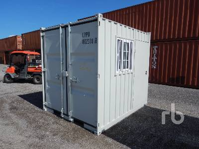 Unused 9 Ft Container