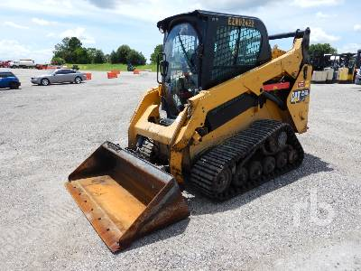 2018 CATERPILLAR 257D 2 Spd Multi Terrain Loader