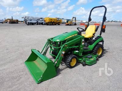 2016 JOHN DEERE 1025R 4WD Utility Tractor