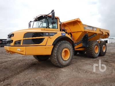 2016 VOLVO A40G 6x6 Articulated Dump Truck