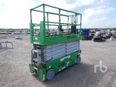 2012 GENIE GS3232 Electric Scissorlift