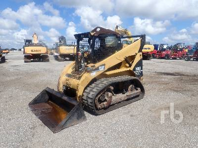 2007 CATERPILLAR 268B 2 Spd High Flow Multi Terrain Loader
