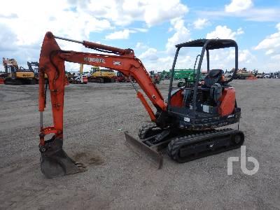 2013 KUBOTA KX71-3S Mini Excavator (1 - 4.9 Tons)