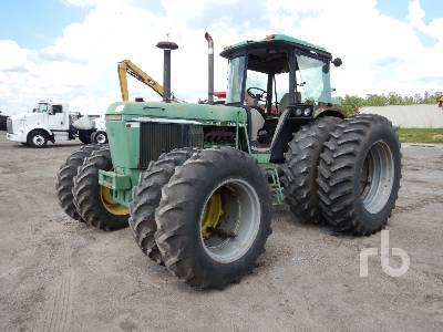 1993 JOHN DEERE 3255 MFWD Tractor