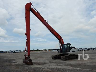 2010 LINK-BELT 240X2 Long Reach Hydraulic Excavator