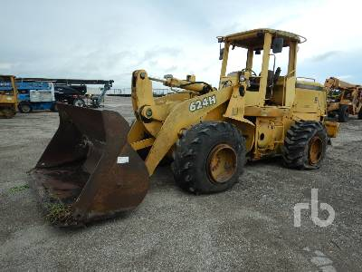 2000 JOHN DEERE 624H Wheel Loader