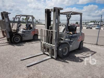 2015 TOYOTA 8FGU25 4500 Lb Forklift