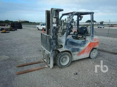 2016 TOYOTA 8FGU25 4500 Lb Forklift