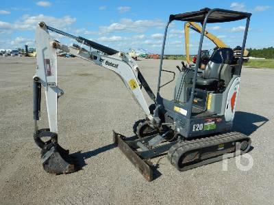 2016 BOBCAT E20 Mini Excavator (1 - 4.9 Tons)