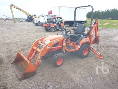2016 KUBOTA BX25 Mini Loader Backhoe