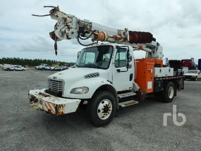 2004 FREIGHTLINER M2106 w/Altec D945BR Digger Derrick Truck